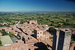 Dächer von San Gimignano