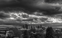 Ominous Clouds over Denver (Scottyseis) Tags: storm hail clouds spring colorado denver stormcloud stormclouds