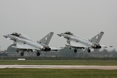 ABYSMAL WEATHER ARRIVAL..... (Gaz West) Tags: weather interesting pair explore arrival 29 typhoons squadron abysmal