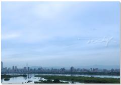 今天清晨三重看台北市...... (RZ.....rocky zhang) Tags: hipbotunsquare