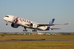F-WZNW_6_1600_051614 (Sergey Kustov) Tags: new test france airplane body aircraft flight wide toulouse takeoff extra 004 a350 airbis xwb parpignan fwznw