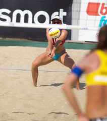 P7180357 (roel.ubels) Tags: world beach sport tour scheveningen denhaag beachvolleyball volleyball thehague volleybal 2014 beachvolleybal fivb