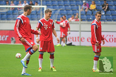 """Vorbereitungsspiel MSV Duisburg vs. FC Bayern Muenchen • <a style=""""font-size:0.8em;"""" href=""""http://www.flickr.com/photos/64442770@N03/14528615339/"""" target=""""_blank"""">View on Flickr</a>"""