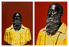 BUST [ATTRIBUTED TO GUGLIELMO DELLA PORTA, 1550-70] (Bruno LaLibert) Tags: city museum photoshop montreal arts fujifilm 2014 museedesbeauxartsdemontreal brunolalibert