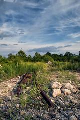 Golden Hour (angusmcnitt) Tags: railroad abandoned nikon tracks rusted goldenhour pheonixville d90 flickrfriday nikon18200