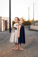 Our Girls (Shailine Doney Photography) Tags: classic beautiful sisters canon alley downtown child models idaho barefeet summertime princesses cda sunnyday littleblackdress captivating canon50mm14 youngmodels alienskin modelsintraining topazlabs westcottapollo littlemodels canon6d paulcbuff topazlabsdetail3 alienskinexposure6 shailinedoneyphotography shailinedoneyphoto topazlabsclean3 photographersdaughters