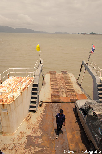 The ferry to Ko Chang