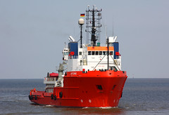 AHTS  ARTEMIS (Wolfgang.W. ) Tags: ship vessel artemis schiff elbe cuxhaven versorger offshorestandby