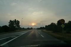 Early morning road (Ken-Zan) Tags: road sun earlymorning vg falkenberg kenzan ljunghav