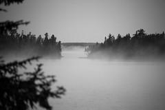 Lake Eva Morning Fog (HOARYHEAD) Tags: ontario fog lakeeva nikond700 campquetico nikon28300mm nearatikokanontario