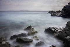 Miasme (photosenvrac) Tags: mer nuage paysage rocher poselongue thierryduchamp vacances2014empuriabravaespagne