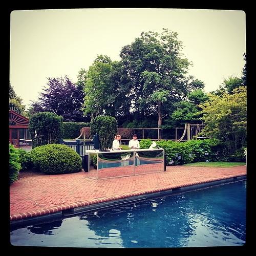 #Hamptons #PoolBar #ThrowBack80