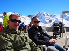 On top of The Gornergrat bahn, zermatt!