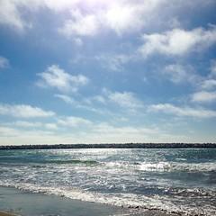 Beach Day: Blue