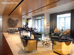 Thiết kế nội thất phòng khách tân cổ điển_094