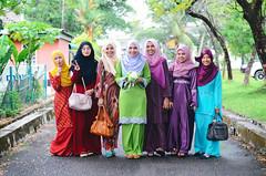 Farah's Engagement Day (Asyraf-135) Tags: ladies 50mm engagement nikon bokeh 14 2014 bokehlicious d7000