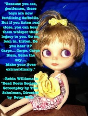 "Blythe-a-Day August #16:Reflection: Cori-Elaina Watches ""Dead Poets Society"""