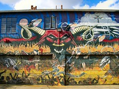 Hollywood 16 (Ted Tamada) Tags: streetart graffiti streetphotography casio pointandshoot casioexilim exilim graffitiart tamada streetwork tedtamada tedsphotography tedtamadaphotography tamadaphotography
