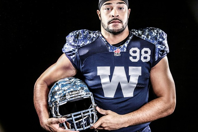 3258f40f5f4 Winnipeg Blue Bombers Unveil New Uniforms - Access Winnipeg