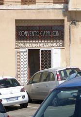 Convento Cappuccini (BaBo Raino Archive) Tags: sardegna italien italy italia convento schrift metall foundtype cagliari cappuccini casteddu sardigna conventocappuccini