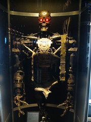 Terminator Exhibition: T-600 (Dick Thomas Johnson) Tags: japan museum movie tokyo robot science   odaiba daiba cyborg terminator sciencemuseum humanoid    miraikan  t600   nationalmuseumofemergingscienceandinnovation  terminatorsalvation  4 terminatorexhibition t  can