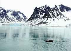 Magdalenefjorden Svalbard. (rogerfscott) Tags: bear summer ice expedition norway high glacier svalbard arctic ms polar spitsbergen realm magdalenefjord magdalenefjorden gadventures