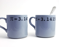 Pi math mug (lltownley) Tags: blue art nerd cup coffee ceramics geek tea geometry coffeecup pi math mug pottery 314 coffeemug dishes etsy lltownleyceramic