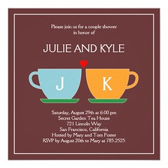 The Perfect Blend Engagement or Wedding Shower Personalized Invites (nunon_nonnon) Tags: wedding shower engagement perfect or invites personalized blend the
