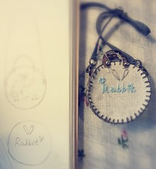 limited rabbit set for Aug (++ Jiajia ++) Tags: rabbit bag miniature doll handmade clothes blythe accessories momoko azone obitsu jiajiadoll