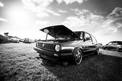 Mk2 Golf - Show and Shine (Niall97) Tags: canon golf eos japanese track time fast racing turbo german l modified mk2 5d tuner fullframe dslr audi panning impreza f28 1740mm f4 evo motorsport s2 markii 70200mm cadwellpark mk4 showandshine timeattack mitsubushi modifiedlive stanced rotiform