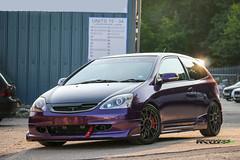 IMG_4434 (Sean at Monsterwraps Ltd) Tags: cars car honda wrapping purple wrap automotive midnight civic import jap jdm typer arlon carwrap purplewrap midnightpurple japcars monsterwraps