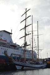 Pogoria (DSC_0020) (AngusInShetland) Tags: scotland poland tallship shetland lerwick barquentine gdynia sailtraining victoriapier pogoria lerwickharbour