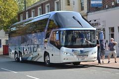 Reays Neoplan Starliner 4WJR - Carlisle (dwb transport photos) Tags: coach carlisle starliner neoplan reayscoaches 4wjr