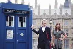 Doctor Who (Simon-K) Tags: london television actors parliament parliamentsquare doctor doctorwho bbc tardis londonist whovian petercapaldi jennacoleman