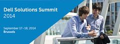 Dell Solutions Summit 2014 (Dell's Official Flickr Page) Tags: dell summit solutions brussel dellsolutionssummit