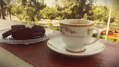 The morning coffee (Sulafa) Tags: coffee morningcoffee قهوة buiscts