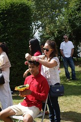 Novice Monk Hair Cutting Ceremony (radioink) Tags: summer hair temple cut ceremony monk thai staffordshire novice 2014 watmahathat kingsbromley
