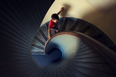 conch (Conor F. Shine) Tags: lighthouse public childhood stairs spiral sandiego pointloma cabrillonationalmonument