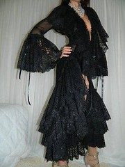 http://goo.gl/zMBFxa (natashassecretbetweenus) Tags: vintage lingerie satin intimate nylon nightgown sheer robes negligee