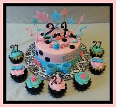 Cake and cupcakes by Randoplh, North Carolina, www.birthdaycakes4free.com