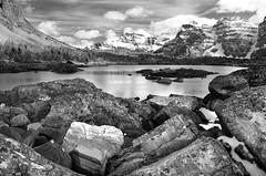 Lake Eiffel Banff Canada (tubulin) Tags: lake canada rockies banff lakeeiffel