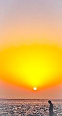 Peace (sarmad pervez) Tags: pakistan sunset yellow hub damm balouchistan beautifulpakistan peopleofpakistan iphoneography sarmadpervez