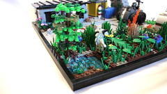 Overgrowth (Piece of Slice) Tags: rebel dawn vines lego explosion cargo forge resistance