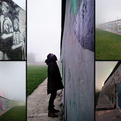 The-Wall (jondevo) Tags: winter selfportrait cold berlin art conflict eastsidegallery
