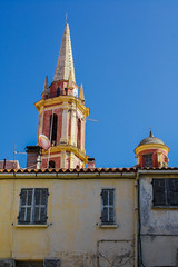 Corsican colors (wamcclung) Tags: tower church baroque turret architecturaldetails