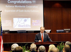 09-08-2014 SharkBite Manufacturer to Open $50 million facility in Cullman