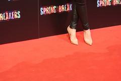 Angy en la premiere de Spring Breakers