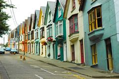 Irish Colorful Houses (Tom Hannigan) Tags: desktop ireland houses red wallpaper vacation irish green fun cool colorful screensaver background painted awesome backgrounds wallpapers hannigan screensavers