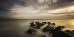 Sandgate (richard carter...) Tags: longexposure seascape kent rocks sandgate 1635 canoneos5dmk2