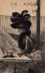 Henri Boutet et les Petits Mmoires de Paris (1909) (Maison de l'Alchimiste) Tags: henriboutet 1909 parisienne pointesche